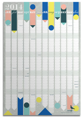 lollipop designs wall planner
