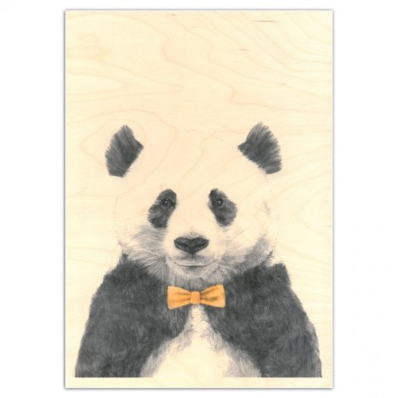 panda wooden poster graham and green