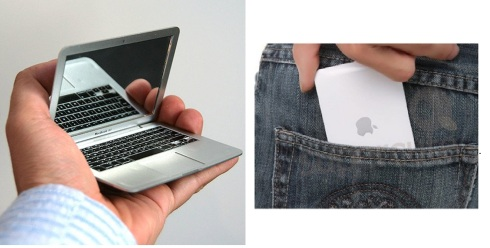 mini faux macbook air