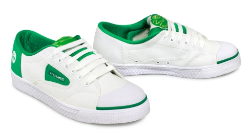 Dunlop Green Flash trainers (pair) £29.99 Shuperb.co.uk