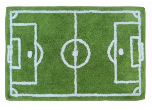 football pitch rug - £9 Asda