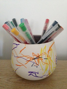 Sam's DIY pen pot