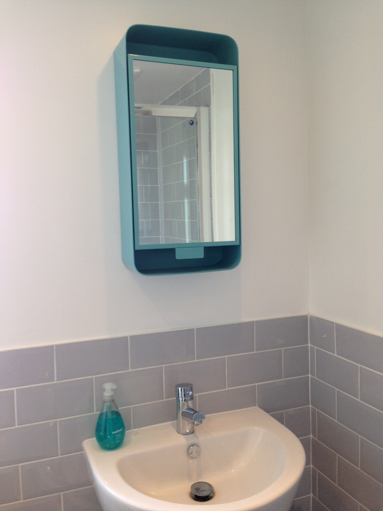 Amazing BATHROOM MIRROR With Shelves Stunning NAUTICAL Design Plain Wall Hung