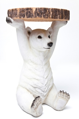 HOMES ED LOVES Polar bear side table £125 Rockettstgeorge.co.uk (cut out)