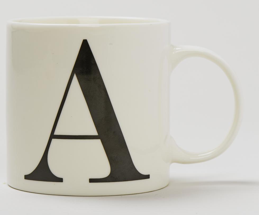 letter a mug matalan 2