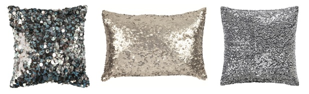 Sequin cushion £20 BHS