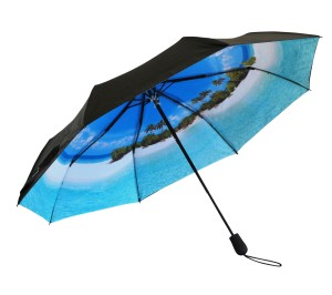 life's a beach folding umbrella