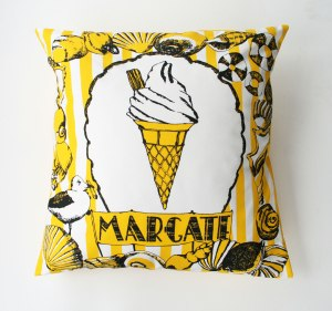 Margate Cushion by Home Slice Design £38.50 Notonthehighstreet.com