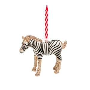 Baby zebra candle holder £11.99 Candleandcake.co.uk
