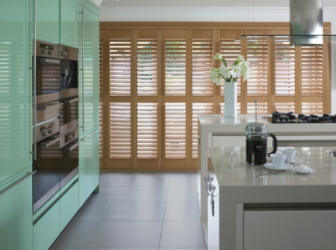 Thomas Sanderson - kitchen shutters