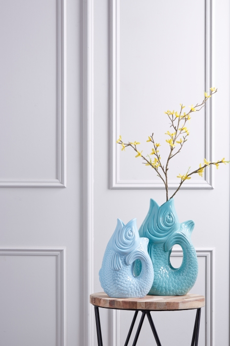 Small £18 and Large £33 retro fish vases The Contemporary Home