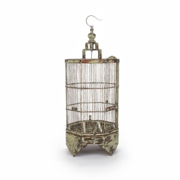 Tukang antique green midi birdcage £65 Puji.com